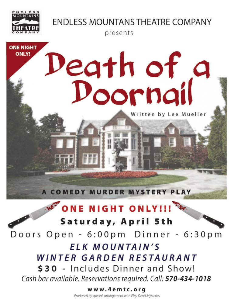 Death of a Doornail at Elk Mountain