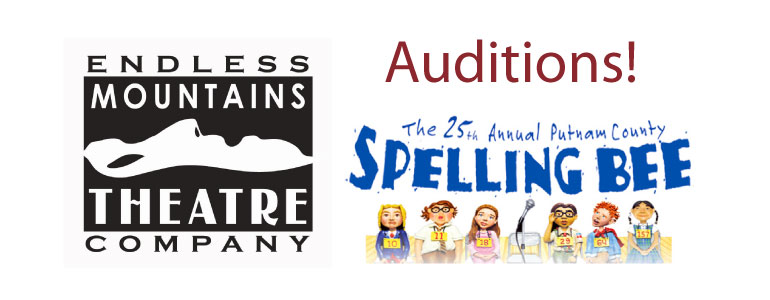 Auditions 25th Annual Putnam County Spelling Bee