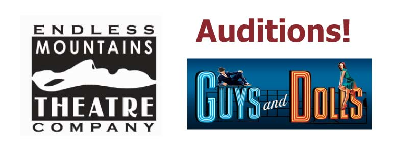 Auditions for Guys and Dolls